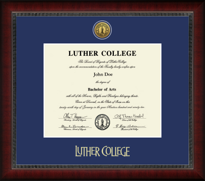 Diploma Frame Sutton Medallion Engraved (SKU 1042950121)