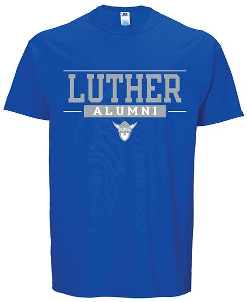 Luther Over Alumni With Norsehead