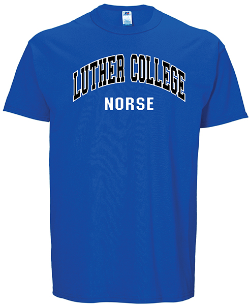 LUTHER COLLEGE ARCHED OVER NORSE