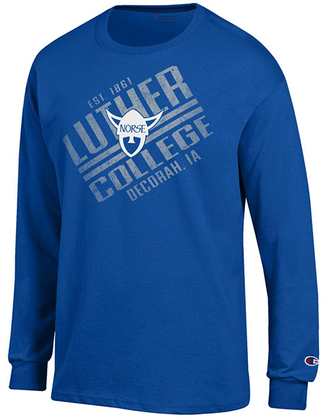 Long Sleeve Luther College Norsehead