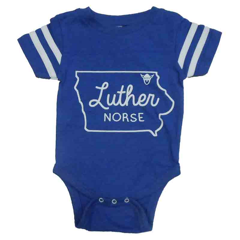 Onesie Iowa Outline Luther Norse (SKU 1043571748)