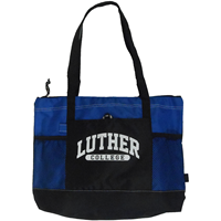 Luther College Zippered Tote
