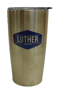 Emblematic Tumbler Luther College Silver