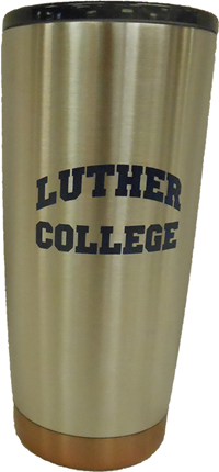 Luther College Arched Tumbler