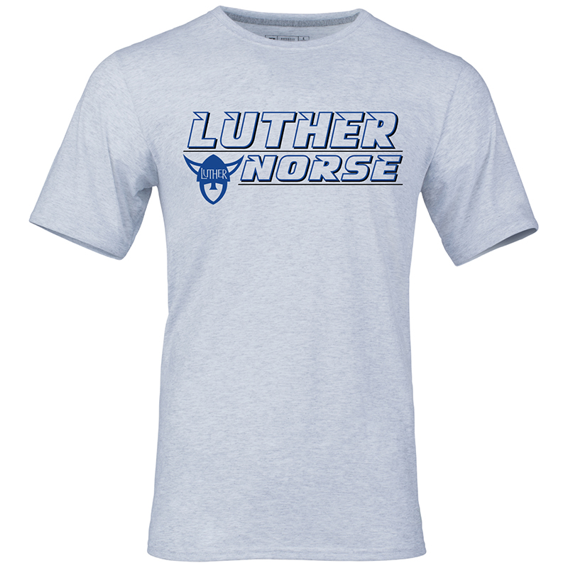 Tee Luther Norse Stacked With Norsehead
