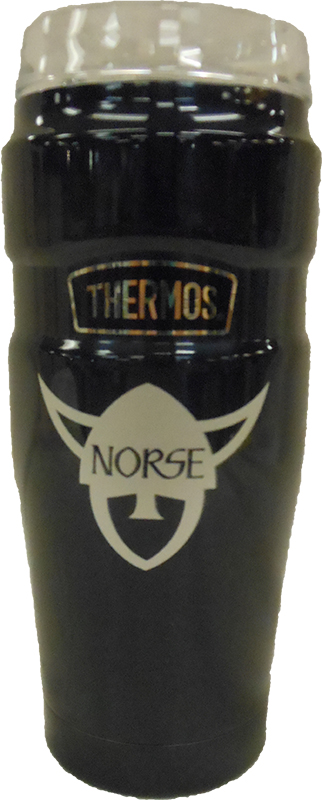Norse Head Navy Thermos Travel Tumbler (SKU 1047069519)