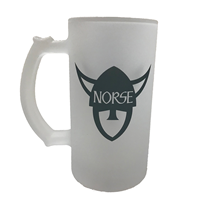 Frosted Stein Norse Head / Luther College
