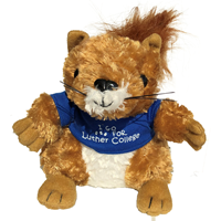 "Plush  - Squirrel ""I Go Nuts For Luther College"""