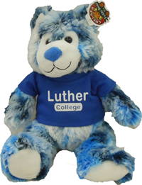 Plush Luther College Marley Bear