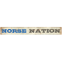Wood Sign Norse Nation