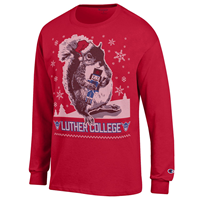 Luther Squirrel Christmas Tee