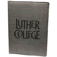 Padfolio Luther College Charcoal