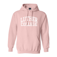 Hood Arched Luther Over College