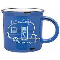 Mug 15 Oz Luther College Happy Camper