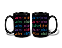Luther Luther Around Mug 15Oz Black