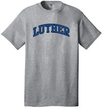 Luther Tee Outlined And Filled In Assorted Colors