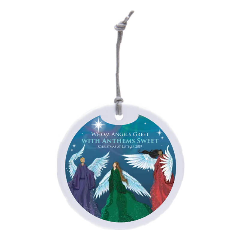 ****Christmas At Luther 2019 Ornament (SKU 1051951660)