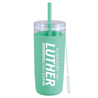 Luther College Light Green Tumbler