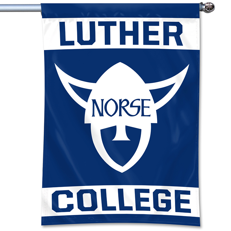 Luther College Norsehead 3'X'5' Flag (SKU 1052445963)