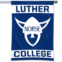Luther College Norsehead 3'X'5' Flag