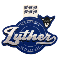Sticker Luther Script Welcome To The Valley