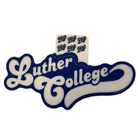 Sticker Luther Script Tail