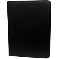 Luther College Black Padfolio