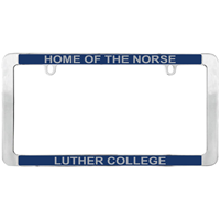 License Plate Frame Home Of The Norse