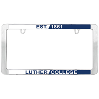 License Plate Frame Est.1861 Luther College