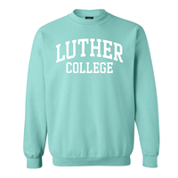 Crew Luther Arched College Aqua