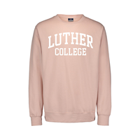 Crew Luther Arched College Pink