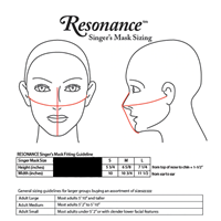 SINGERS FACE MASK